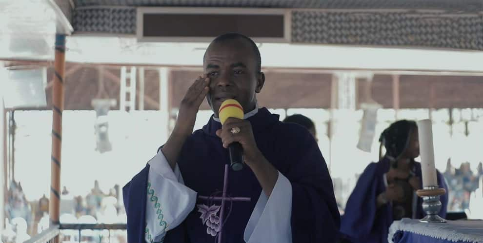 Go ahead, report me to Pope, Father Mbaka tells All Progressives Congress