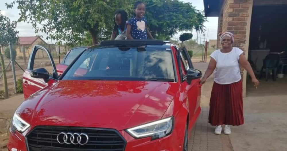 Mum Positively Beaming as Youngest Son Cops Himself a Brand New Audi