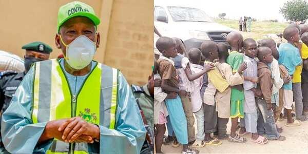 Repatriated Almajiri need care, not noise making - Ganduje to El-Rufai