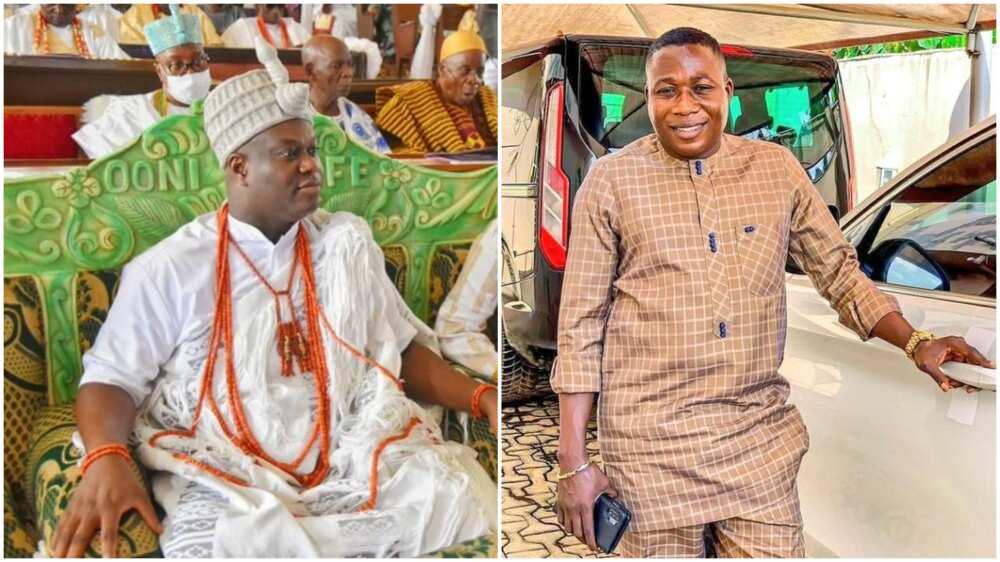 Ooni says Sunday Igboho's allegations against him irresponsible