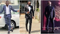 5 times Nigerian male celebrities looked dapper in 2 piece suits (photos)