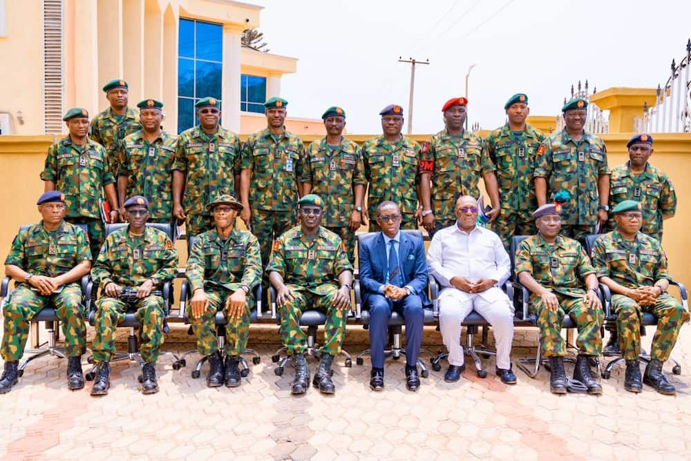 Gov Okowa commends Nigerian Army for increased formations in Delta state