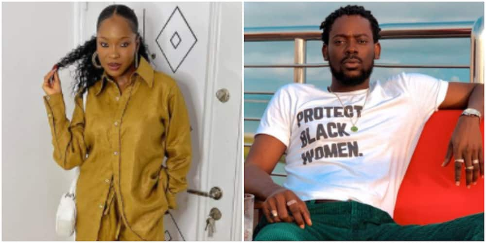 Vee tackles Adekunle Gold for requesting BBNaija type gifts for his birthday