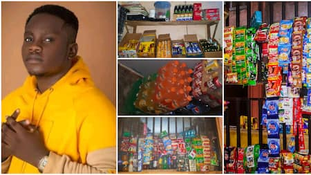 Nigerian student converts his hostel room into mini-mart where he sells household items, now has an employee