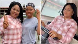 You dropped your marriage for our sake - Teen actress Regina Daniels celebrates mom on her birthday
