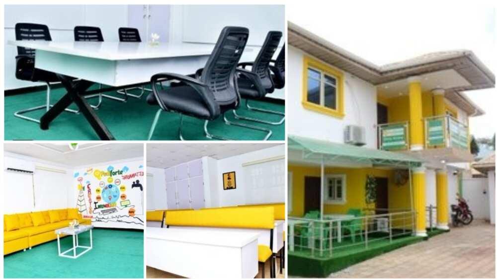 A collage showing the school. Twitter/@Danjo_Oosha