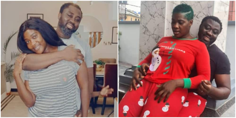 My Property with Figure 8 and Flat Tummy, Mercy Johnson's Husband Says as He Flaunts Actress on Social Media