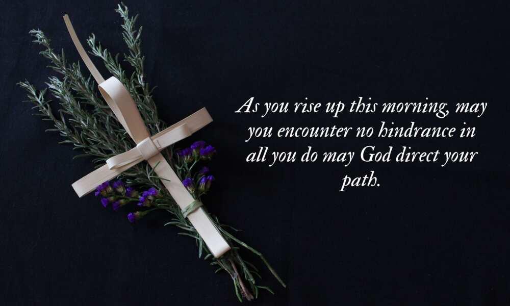 Sunday morning prayer message