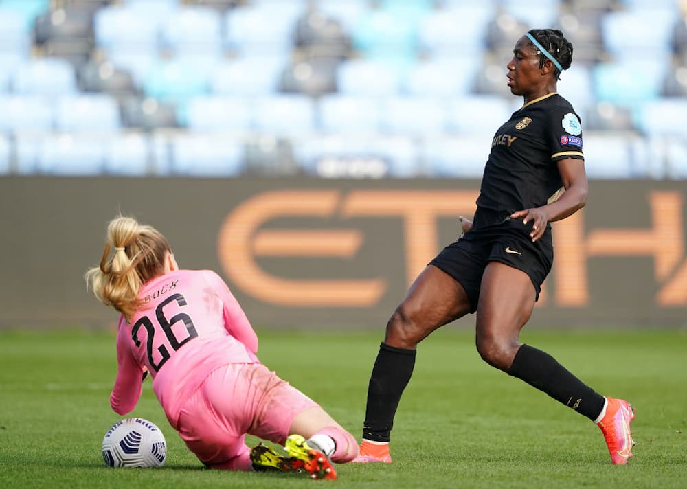 Nigerian star scores stunning Champions League goal against Man City