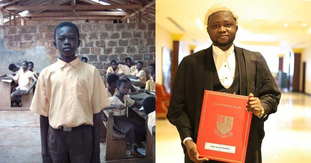 Meet boy from rural town in Bono Region who just became a lawyer