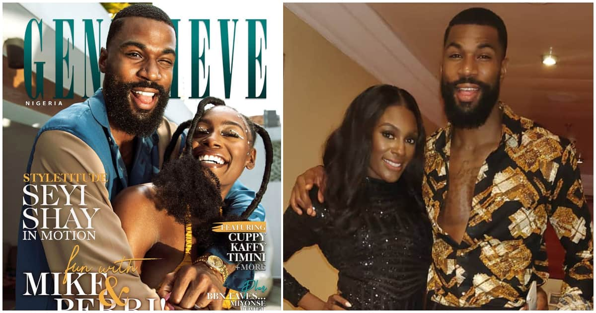 BBNaija star Mike and wife cover December issue of Genevieve Magazine