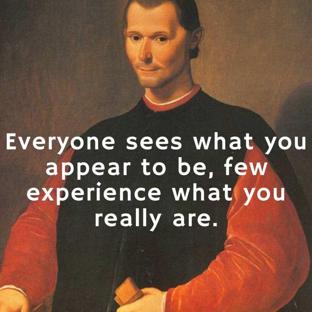 machiavelli quotes on human nature