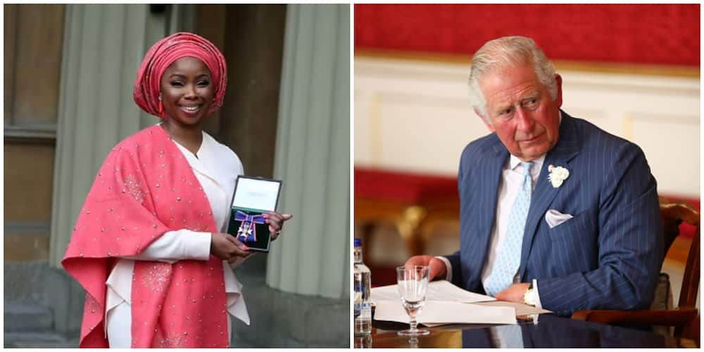 Prince Charles of Wales promotes Nigerian lady Ewa to the role of Royal Director