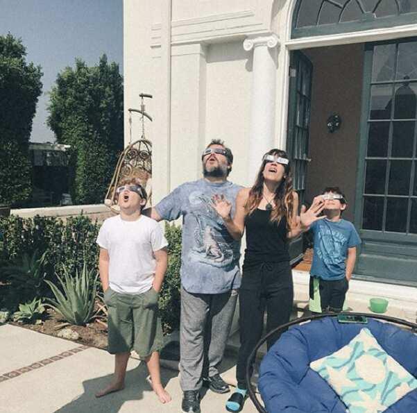 Jack Black wife and kids