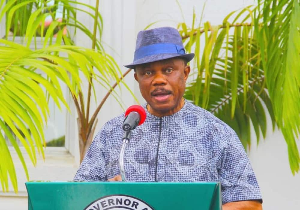 Obiano says APGA will defeat PDP, APC in the Anambra election.