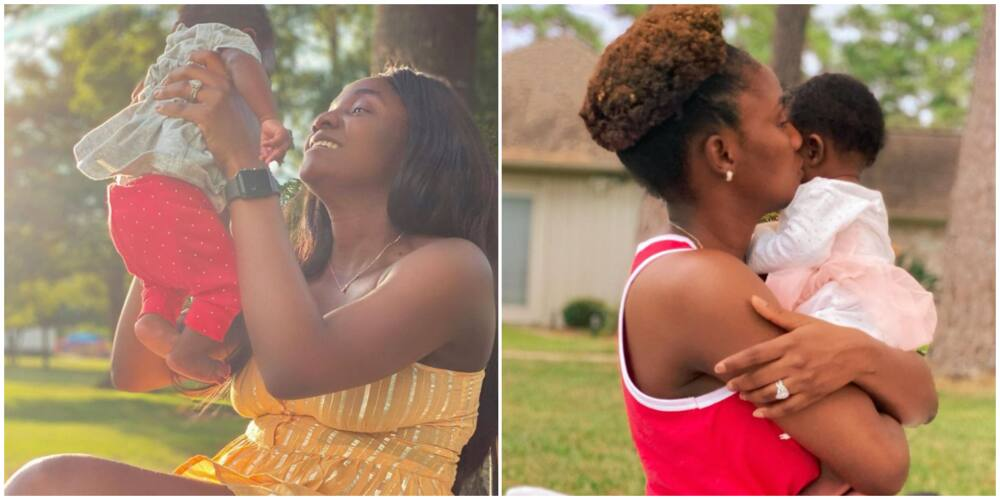 Singer Simi vows to beat up any child that bullies her baby Deja in school