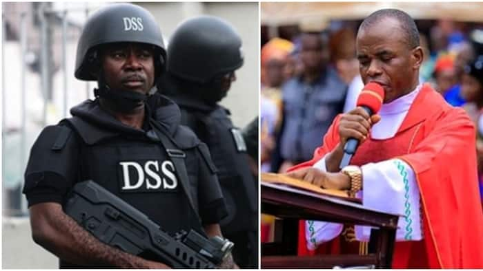 Abuja invitation: Catholic church discloses next action if Father Mbaka is arrested by DSS