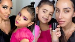 She's amazing: Talented little girl Stuns the world with makeup skills in viral video