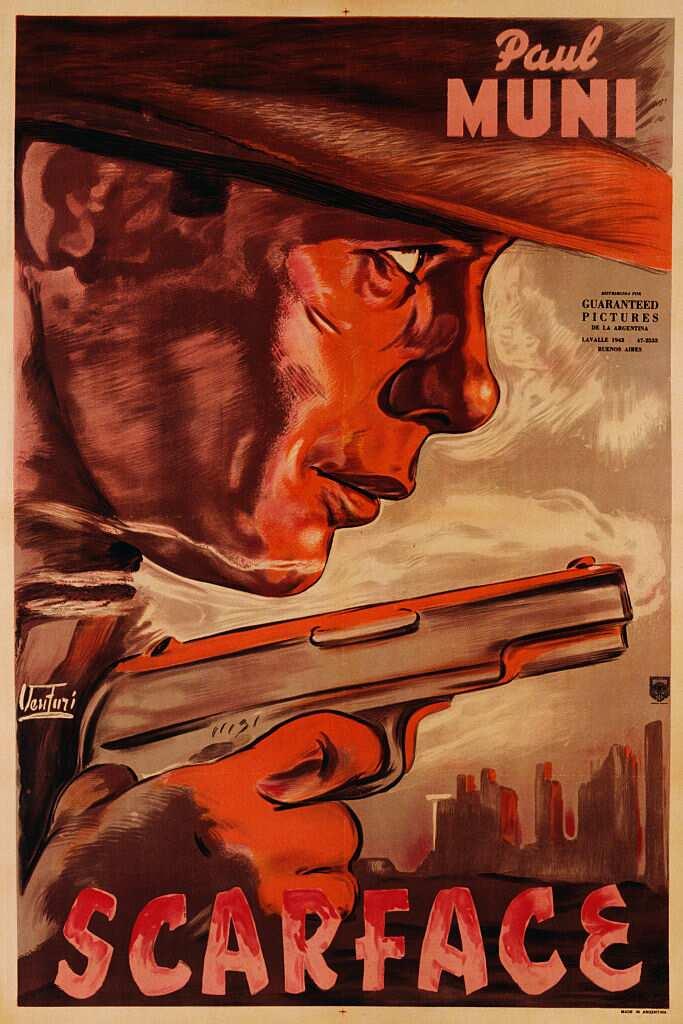 L'affiche du film Scarface de 1932