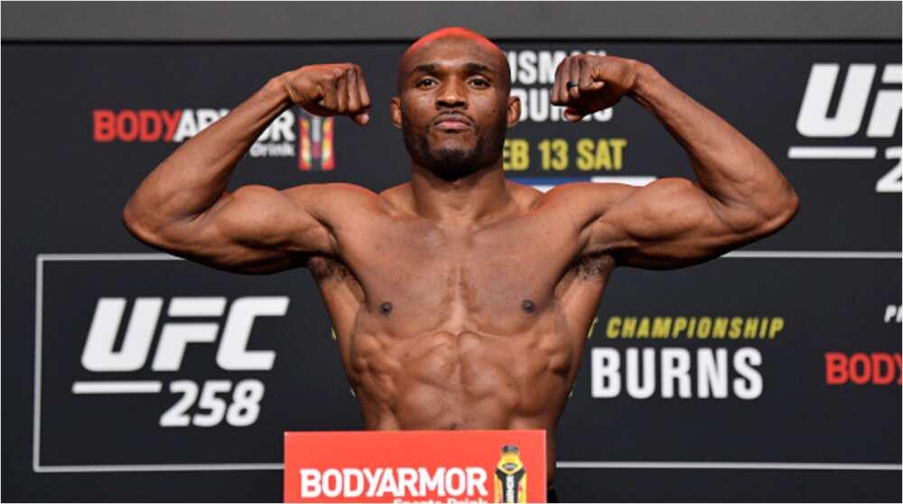 Kamaru Usman knocks out Gilbert Burns in the 3rd round