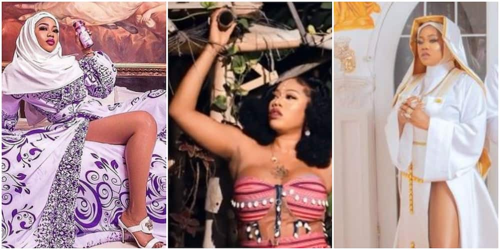X Times Controversial Celebrity Stylist Toyin Lawani Broke the Internet with Religion-Themed Photos