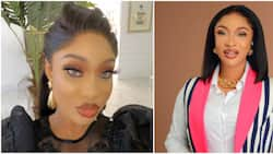 Your kind of comment is not welcome here: Tonto Dikeh replies fan who begged her to be strong