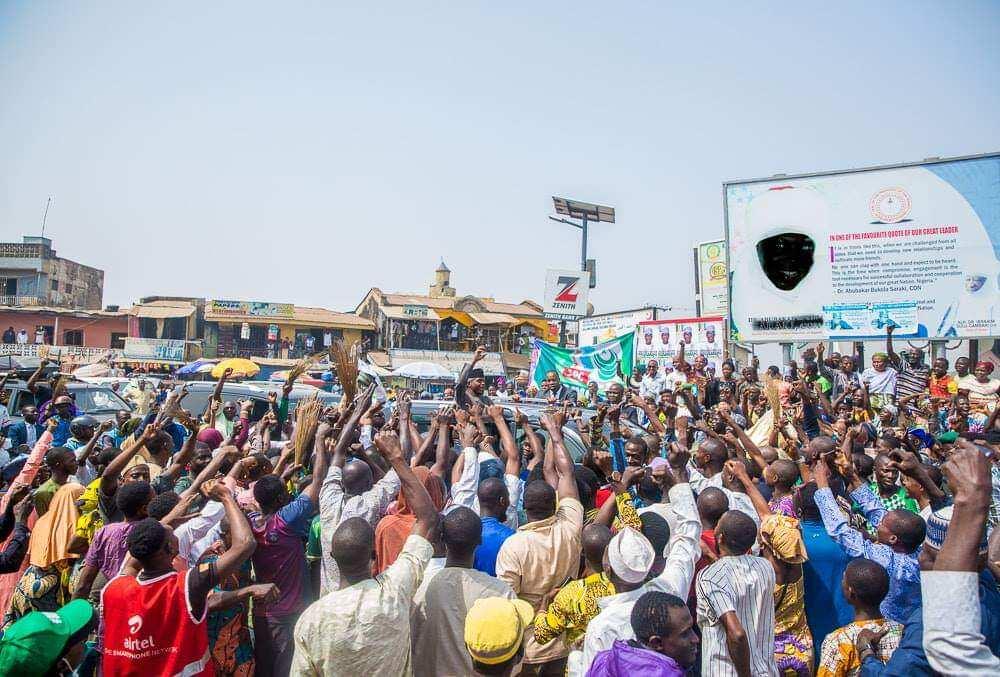 Idonmu ya waye: Yadda mutan jihar Kwara suka tarbi Osinbajo (Hotuna)