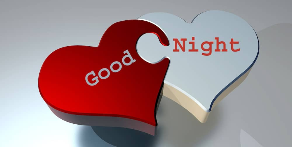 Good night from the heart