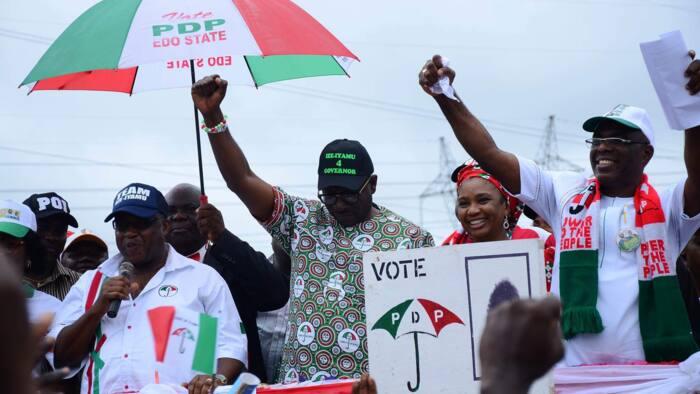 Sauya-sheka: An fara samun rikicin cikin gida a PDP saboda burin Gwaman Edo Obaseki