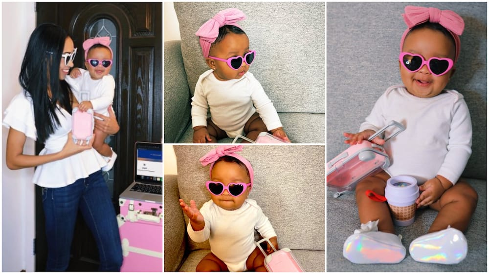Check out how this cute baby smashed this amazing photoshoot