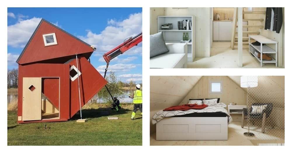 The KSh 2.4 million tiny house that can be delivered in a box