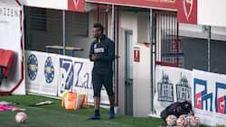 Grace to grass as Man City, Liverpool legend spotted training with 4th division side after being club-less for 5 months
