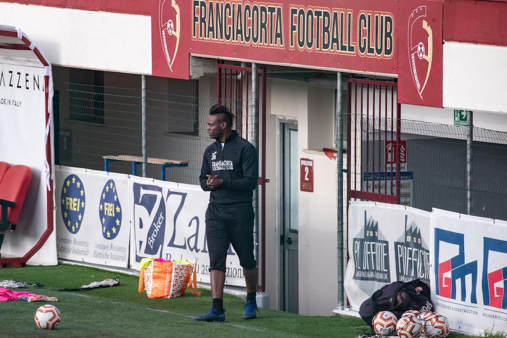 Mario Balotelli spotted training with 4th Italian division side Franciacorta