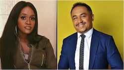 Daddy Freeze and Maraji: OAP schools comedienne after she said 'Jesus is the only way to heaven'