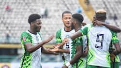 Panic as Nigerian star who scored twice vs Liberia is released from Super Eagles camp ahead of Cape Verde game