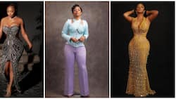 Toke Makinwa: Nigerian media personality proves she's a fashion goddess in 9 unique ensembles