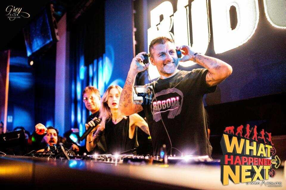 Italian football legend Christian Vieri turns DJ after retiring from football