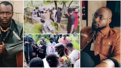 Where is Davido? Nigerians react as singer's photographer Fortune is finally laid to rest in Lagos