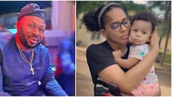 Olakunle Churchill denies being the father of TBoss' baby