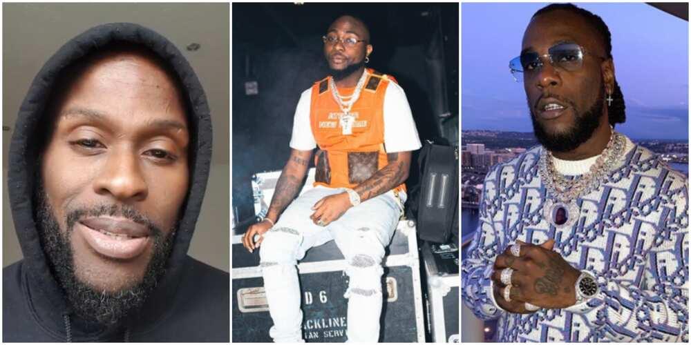 Ikechukwu says he does not believe Davido and Burna Boy fought in Ghana (video)