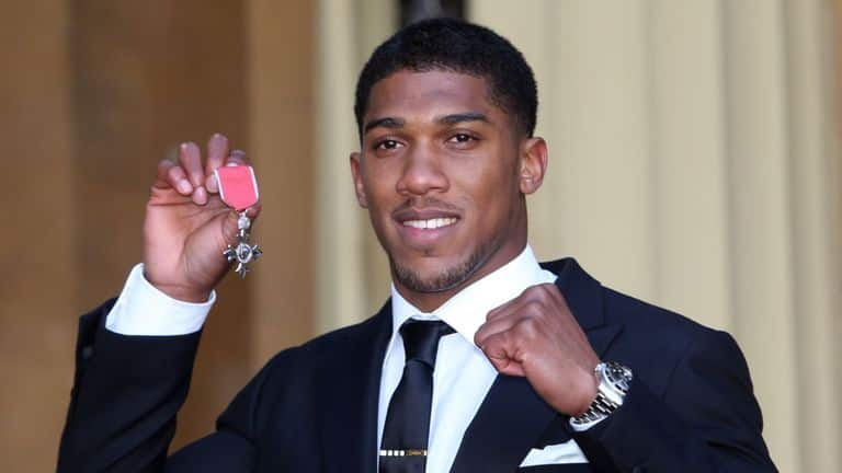 Anthony Joshua Makes Huge Comments About Money, Tells Followers What Is More Important
