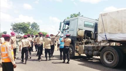 BREAKING: 4 INEC workers, NYSC corper, 3-year-old baby die in Kogi road accident