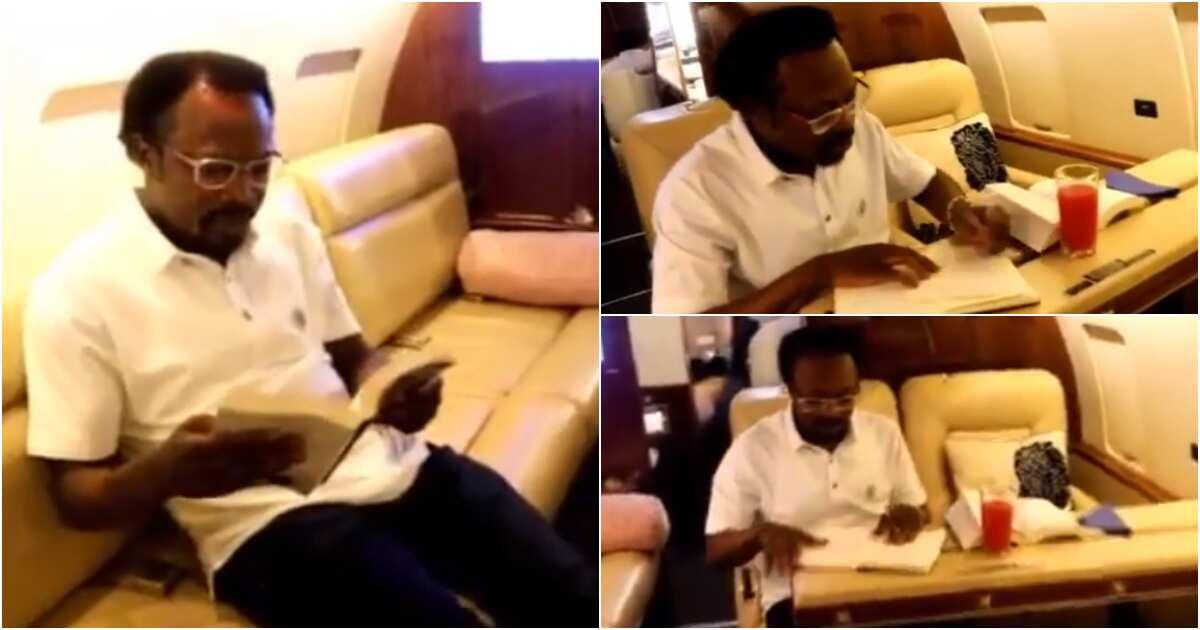 Prophet Iginla allegedly buys private jet during birthday celebration