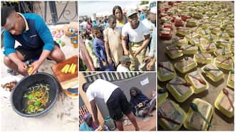 I'm not a yahoo boy, I feed people with my little money - Nigerian man who gave beggars food speaks