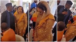 Photos, videos from Tonto Dikeh's birthday party that had Rochas in attendance, fans claim actress is pregnant