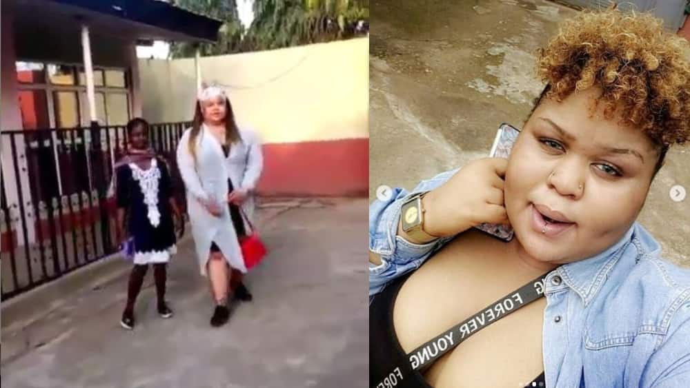 Lady gets kicked out of church over her outfit in Abuja