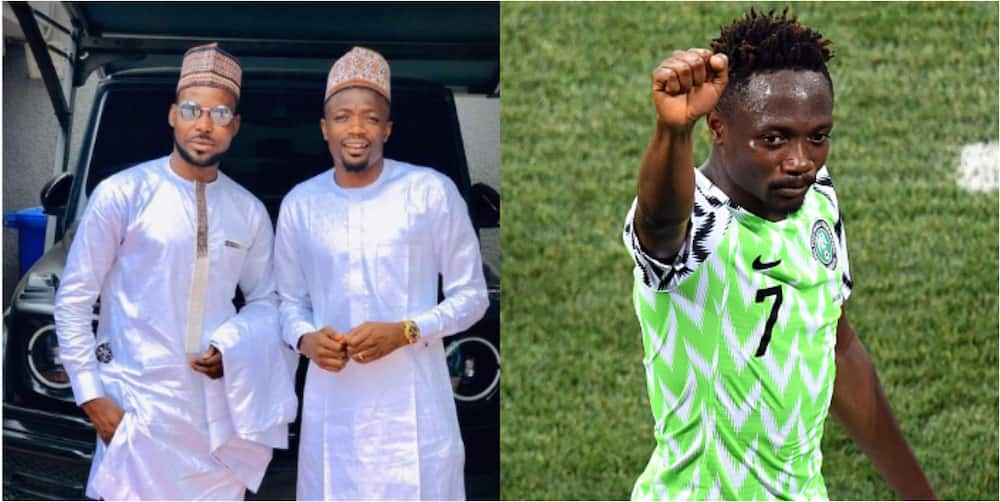 Super Eagles captain Ahmed Musa shows off his expensive G-wagon as he steps out for Eid Mubarak in style
