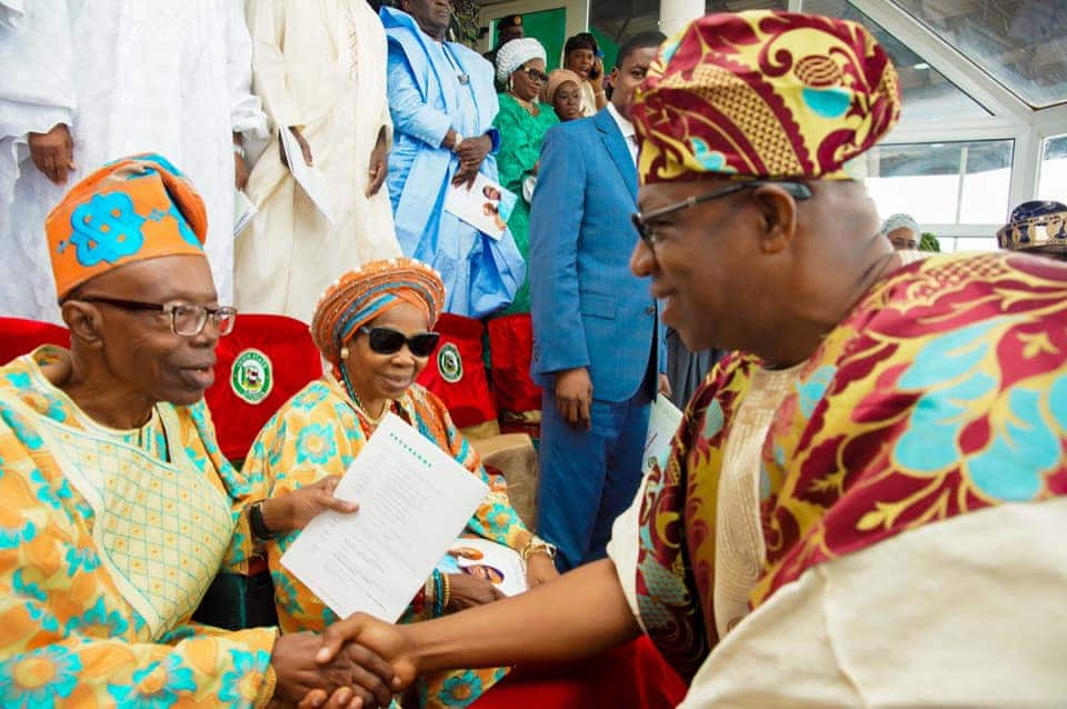 Governor Abiodun's father passes on