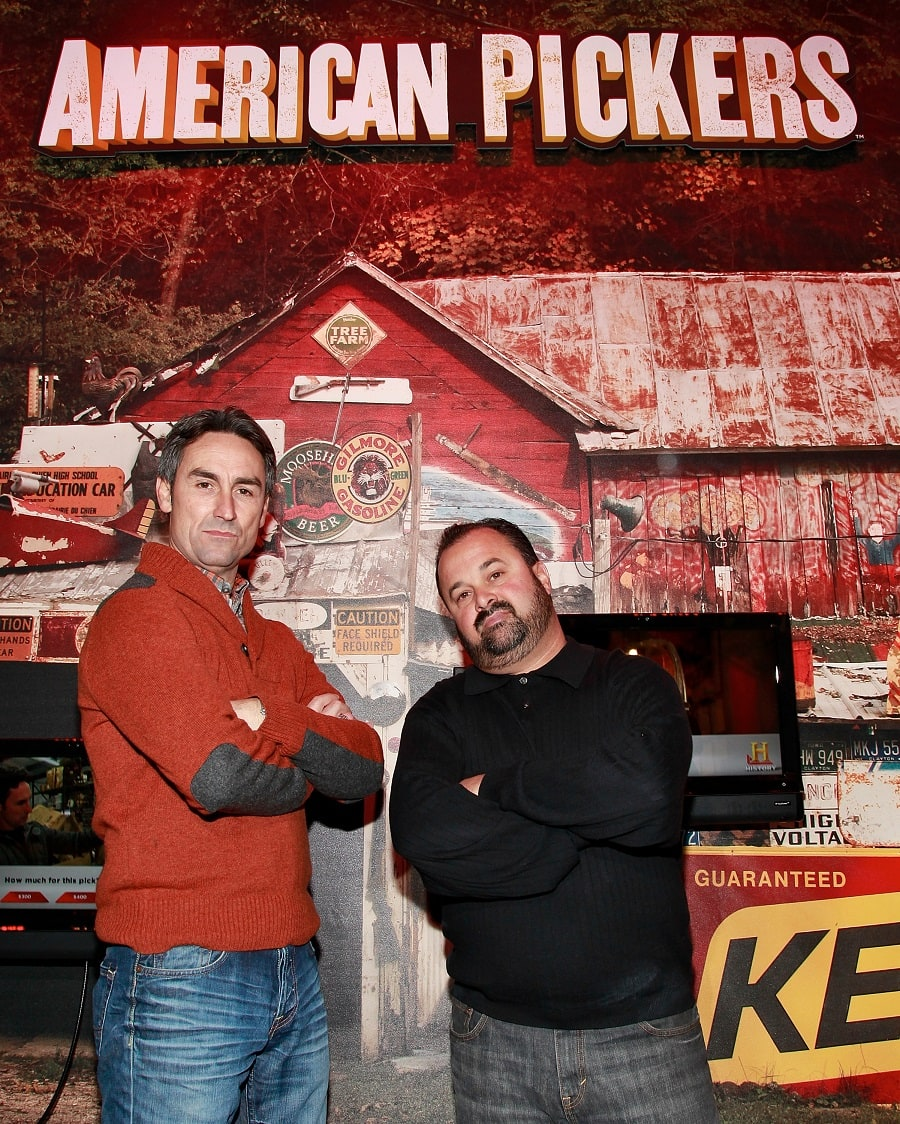 What happened to Frank on American Pickers?