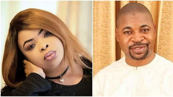 Actress Dayo Amusa pens touching note to MC Oluomo, says his presence makes the world a happy place